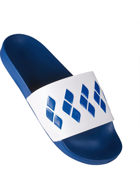 arena Team Stripe Slide Teenslippers en sandalen blauw/wit